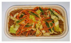 Vegetable Stir Fry w/ Rice