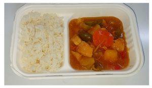 Sweet N Sour Chicken w/ Rice